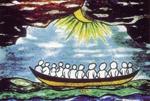"""Logo """"Wiara i Światło"""""""