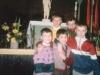 1993 m. Po Velykinių šv. Mišių Sausio 13-osios vidurinėje mokykloje
