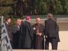Iš kairės Krokuvos inspektorijos vyresnysis kun. Marek Chrzan SDB, Milano saleziečių vyresnysis (inspektorius) kun. Agostino Sosio SDB, Apaštališkasis nuncijus vysk.  Luigi Bonazzi, kard. A. J. Bačkis Vilniaus metropolitas ordinaras