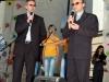 Kun. Jacek Paszenda kartu su kun. Zenon Latawiec SDB, pučiamųjų orkestro dirigentu ir saleziečių  Osvencimio (Lenkijoje) mokyklos direktoriumi