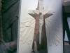 2008 m. Kryžiaus virš altoriaus maketas