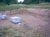 2008 m. rugpjūčio 5 d. Tvarkoma nauja krepšinio aikštelė