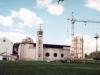 1997 m. Bendras bažnyčios ir saleziečių namų vaizdas