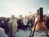 1998 m. sausio 31 d. Vysk. Juozas Tunaitis pašventina bažnyčios varpą