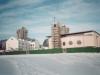 1999 m. sausis. Bendras bažnyčios ir saleziečių namų vaizdas