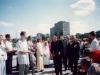 1996 m. rugpjūčio 12 d. Iš kairės: vyriausiasis rektorius kun. Edmundo Vecchi SDB, kun. Zdzisław Weder SDB (Maskvos inspektorius)