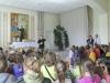 Kun. Aleksandras pristato garbingą svečią vaikams