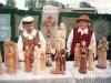 2000 m. Parapijos šventė. Parapijiečių liaudies menininkų Vitalijaus ir Zofijos Valiukevičių dirbinių paroda