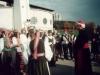 2000 m. Sutvirtinimo sakramentą teikia vysk. Jonas Boruta