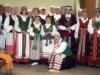 2009 m. Adoruotojos su savo vadove Zofija Valiukevičiene (pritūpusi)