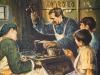 1853 m. rudenį kun. Bosko Oratorijoje įkūrė pirmąsias dirbtuves jaunuoliams, besimokantiems amato.
