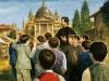 """1864 m.  kun. Bosko Valdoko laukuose pradėjo statyti didelę Marijos Krikščionių Pagalbos šventovę: """"Kiekviena šios bažnyčios plyta yra Marijos malonė, suteikta tiems, kas jos šaukėsi."""""""