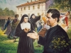"""Po ketverių metų kun. Bosko įkūrė Marijos Krikščionių Pagalbos seserų vienuoliją. Jis joms kalbėjo: """"Jūs darysite gera vargšėms mergaitėms, kaip saleziečiai daro gera jaunuoliams."""""""