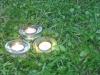 Žvakių šviesa padeda susikaupti maldai